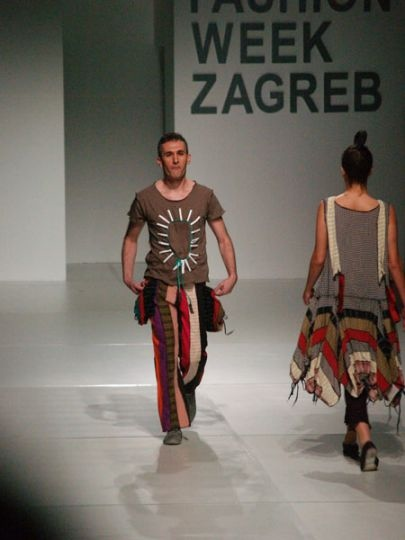 Ana Kujudzic at Zagreb Fashion Week