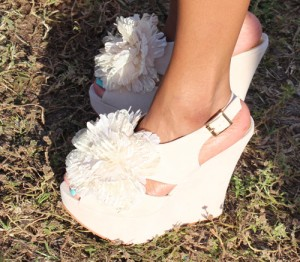 Monica flower shoes
