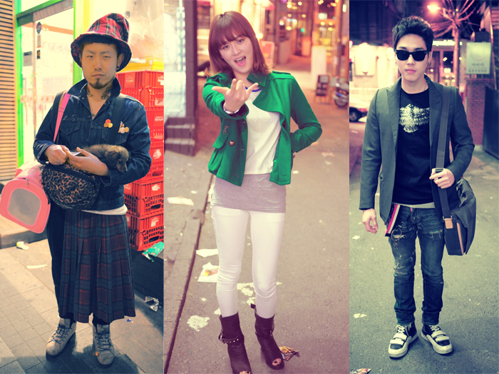 The cool kids from Seoul, South Korea