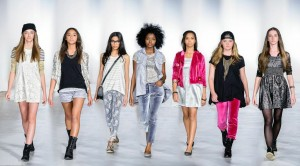 Isabella Rose Taylor designs on the ramps of Austin Fashion Week