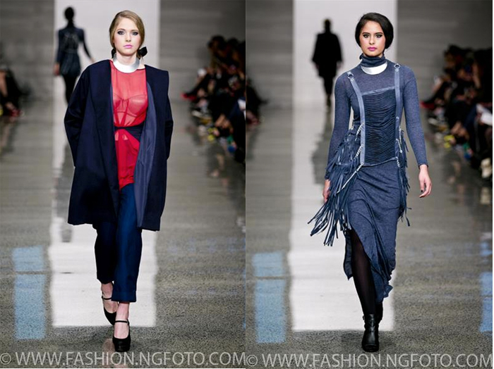 Adrienne Whitewood Fall/Winter 2014 at New Zealand Fashion Week