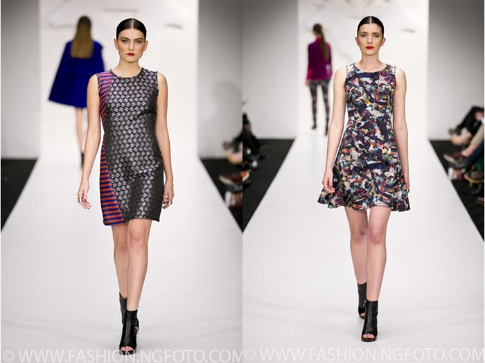 Andrea Moore Fall/Winter 2014 at New Zealand Fashion Week