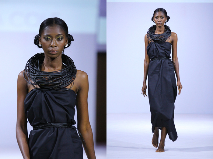 Emefa Cole Jewellery at Ghana Fashion & Design Week 2013
