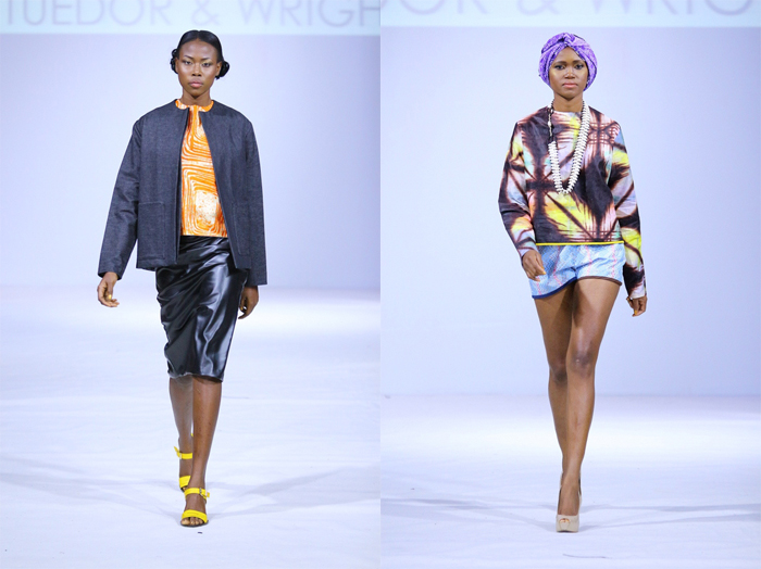 Tuedor and Wright from Ghana Fashion & Design Week 2013