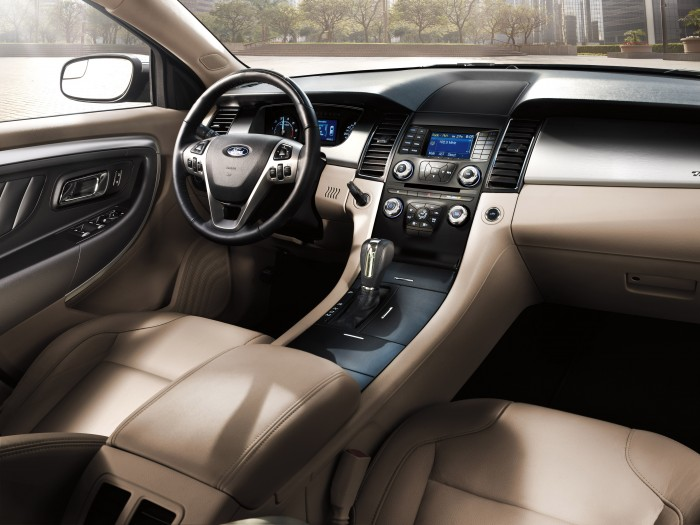 2013 Ford Taurus SEL. Interior designed by Anthony Prozzi, Senior Interior Designer, Ford Motor Co.