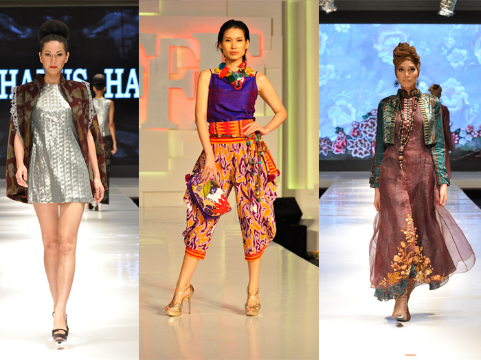 "Jakarta Fashion & Food Festival 2013 L-R: Stephanus Hamy; ""Expressions of Yourself"" by Sarinah & Fomalhaut Zamel"