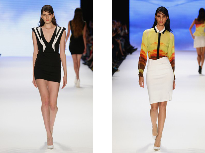 Gunseli Turkay at Mercedes-Benz Fashion Week Istanbul Spring/Summer 2014