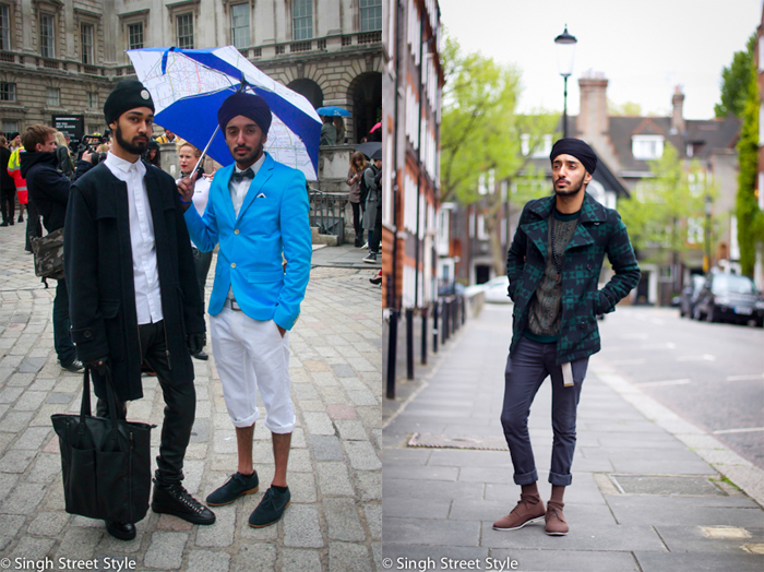 Stylish men featured on Singh Street Style.com from London UK