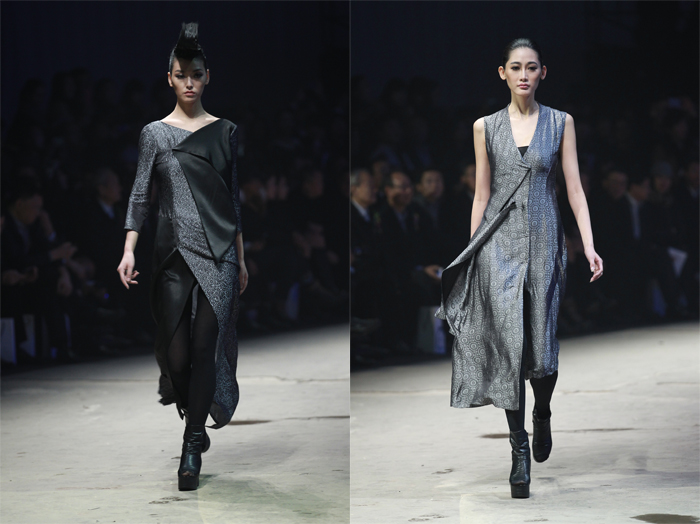 Ji Wenbo High Fashion Collection Spring Summer 2014 Mercedes Benz Fashion Week China
