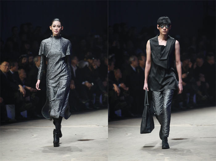 Ji Wenbo High Fashion Collection Spring Summer 2014 at China Fashion Week, Beijing China