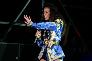 Kelly Rowland at Jazz In The Gardens, Miami Florida
