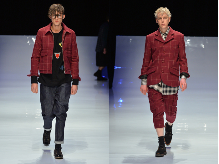 Kidill Mercedes Benz Fashion Week Tokyo Fall Winter 2014
