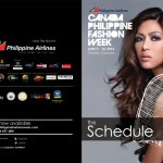 The Sponsors list for Philippine Airlines Canada Philippine Fashion Week
