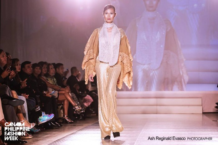 Frederick Peralta's 30th Anniversary at Canada Philippine Fashion Week in Toronto Canad
