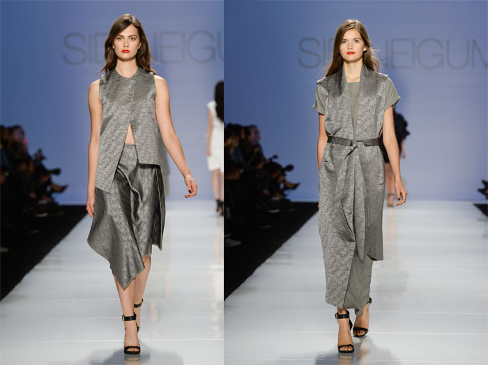Sid Neigum Spring/Summer 2015 World MasterCard Fashion Week Toronto
